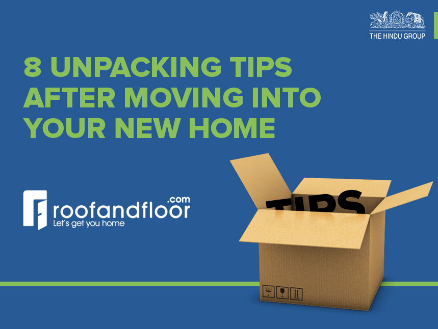 8 unpacking tips after moving into your new home for Moving into a new build house tips
