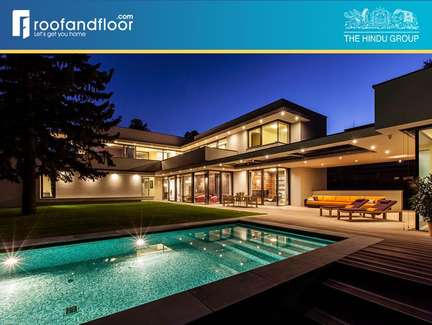 The growth of uber luxury homes in bangalore roofandfloor - Swimming pool builders in bangalore ...